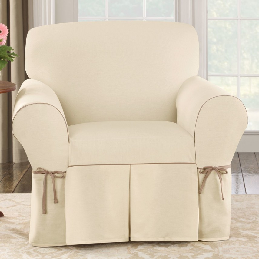 Oversized Chair Slipcover | Slipcover For Recliner | Cheap Slipcovers