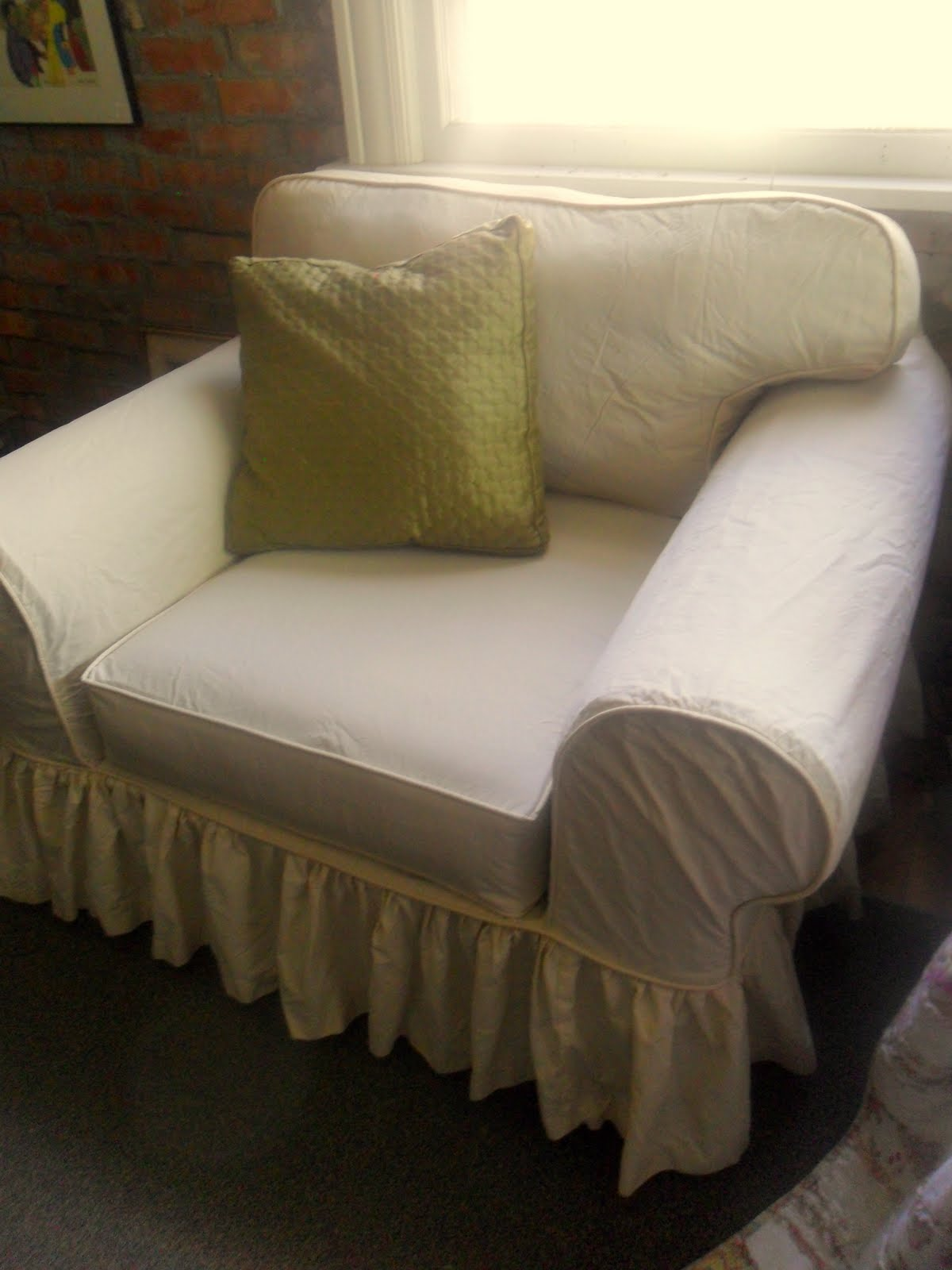 Oversized Chair Slipcover | Slipcover Oversized Chair | Walmart Couch Covers