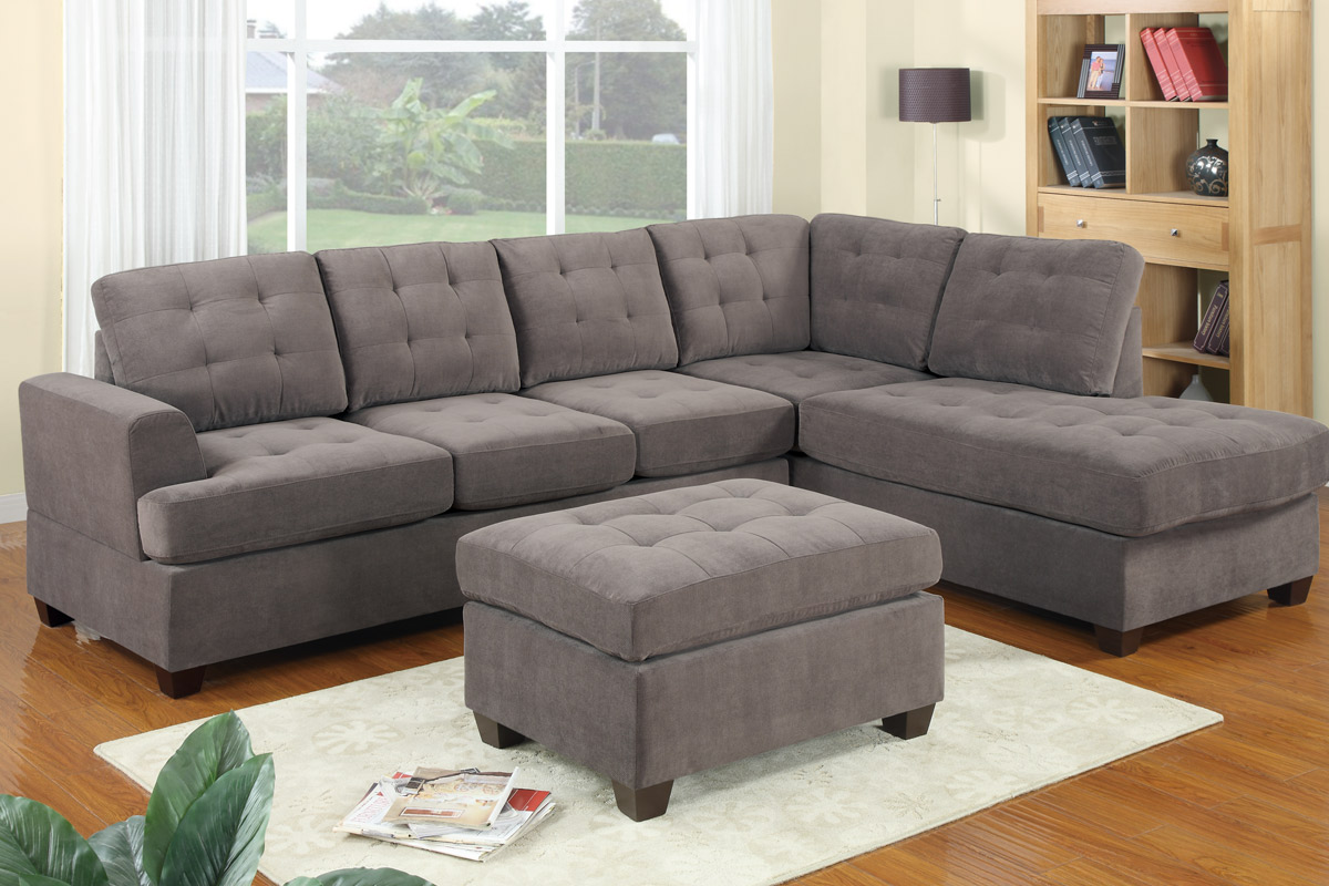 Oversized Couch | Deep Seated Sectional Couches | Large Sectional Sofas