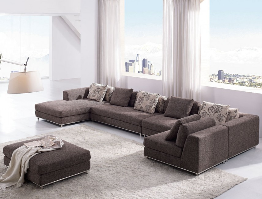 Oversized Couches | Large Sectional Sofas | Deep Seated Sofa