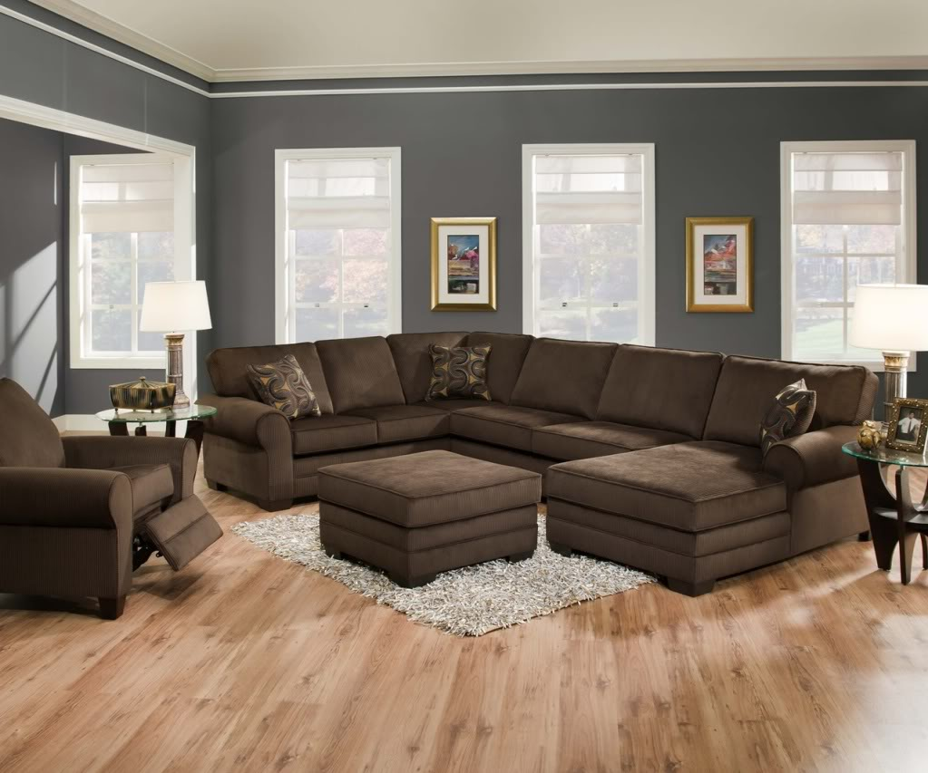Oversized Couches | Large Sectional Sofas | Sofa with Chaise Lounge