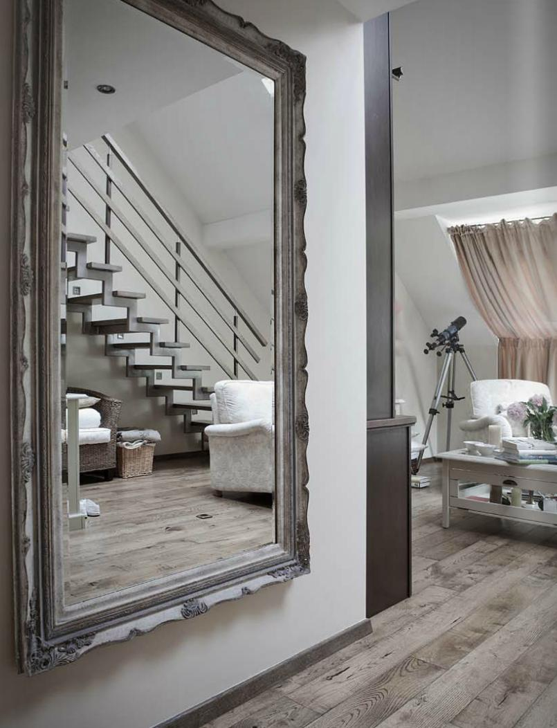 Oversized Leaning Floor Mirror | Mirrored Table Target | Oversized Mirrors