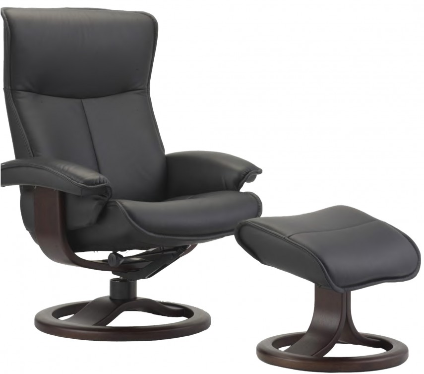 Oversized Leather Chair And Ottoman | Leather Chair And Ottoman | Bernhardt Chairs