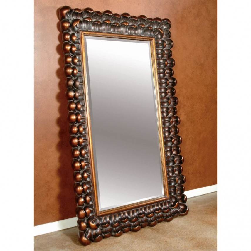 Oversized Mirrors | Distressed Mirrors | Leaning Wall Mirror