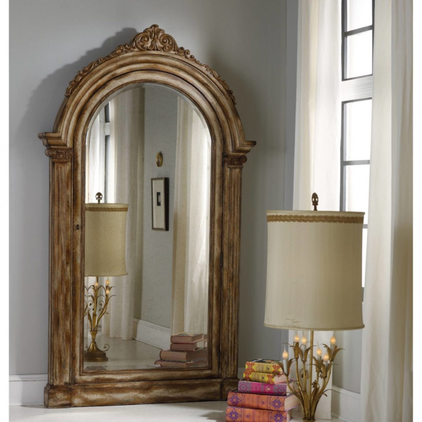 Bedroom appealing oversized mirrors for home decoration for Tall framed mirror