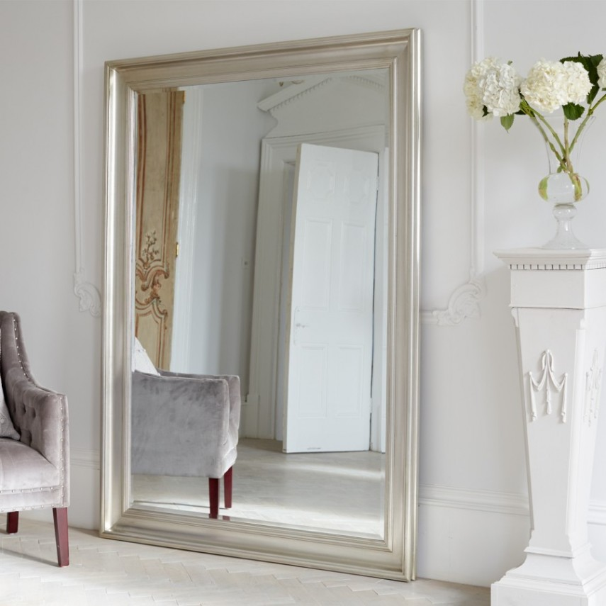 Oversized Mirrors | Large Leaning Mirror | Moroccan Wall Mirror