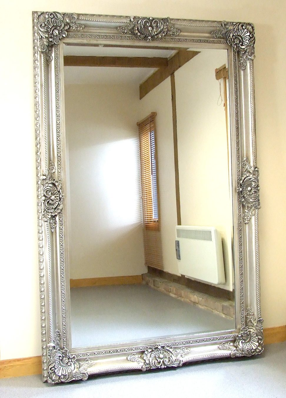 Oversized mirrors home goods wall mirrors beveled mirror for Oversized mirror
