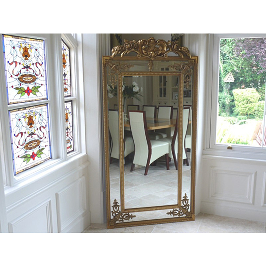 Oversized Mirrors | Paneled Mirror | 3 Piece Wall Mirror Set