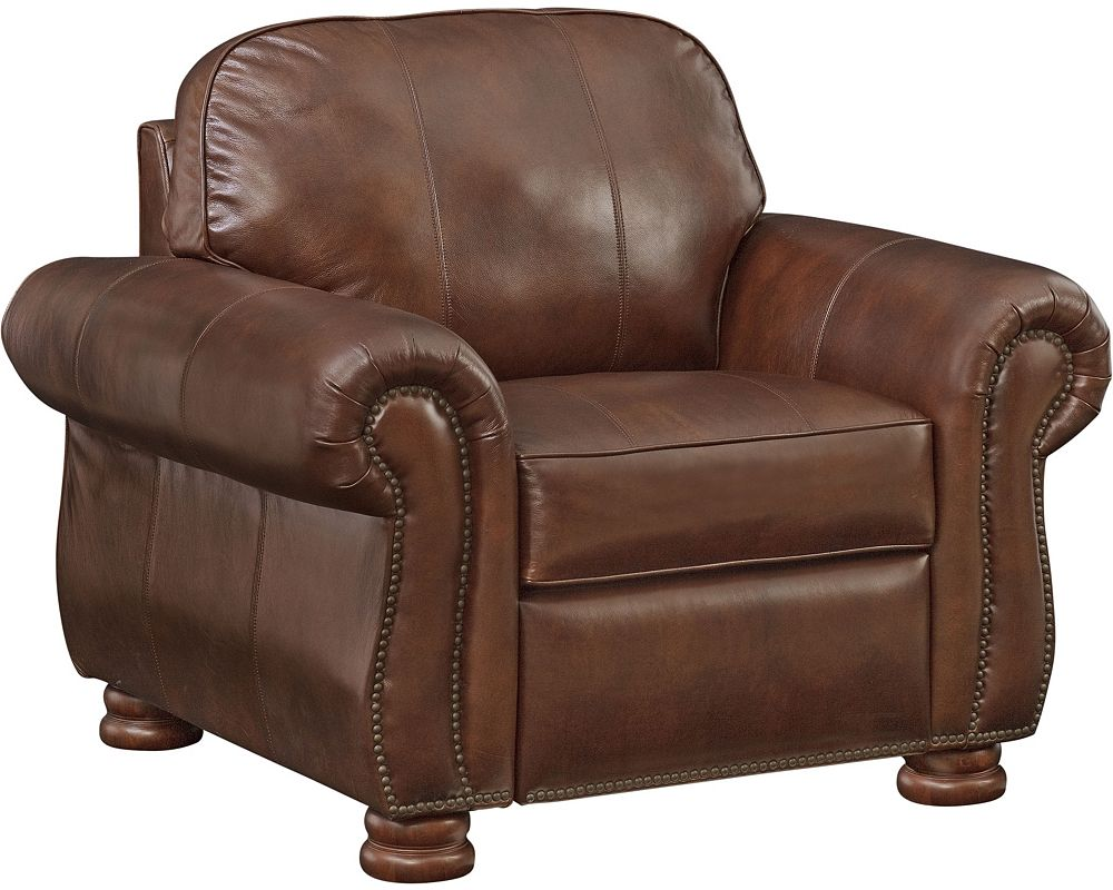 Overstock Chairs and Ottomans | Tufted Leather Chair and Ottoman | Leather Chair and Ottoman