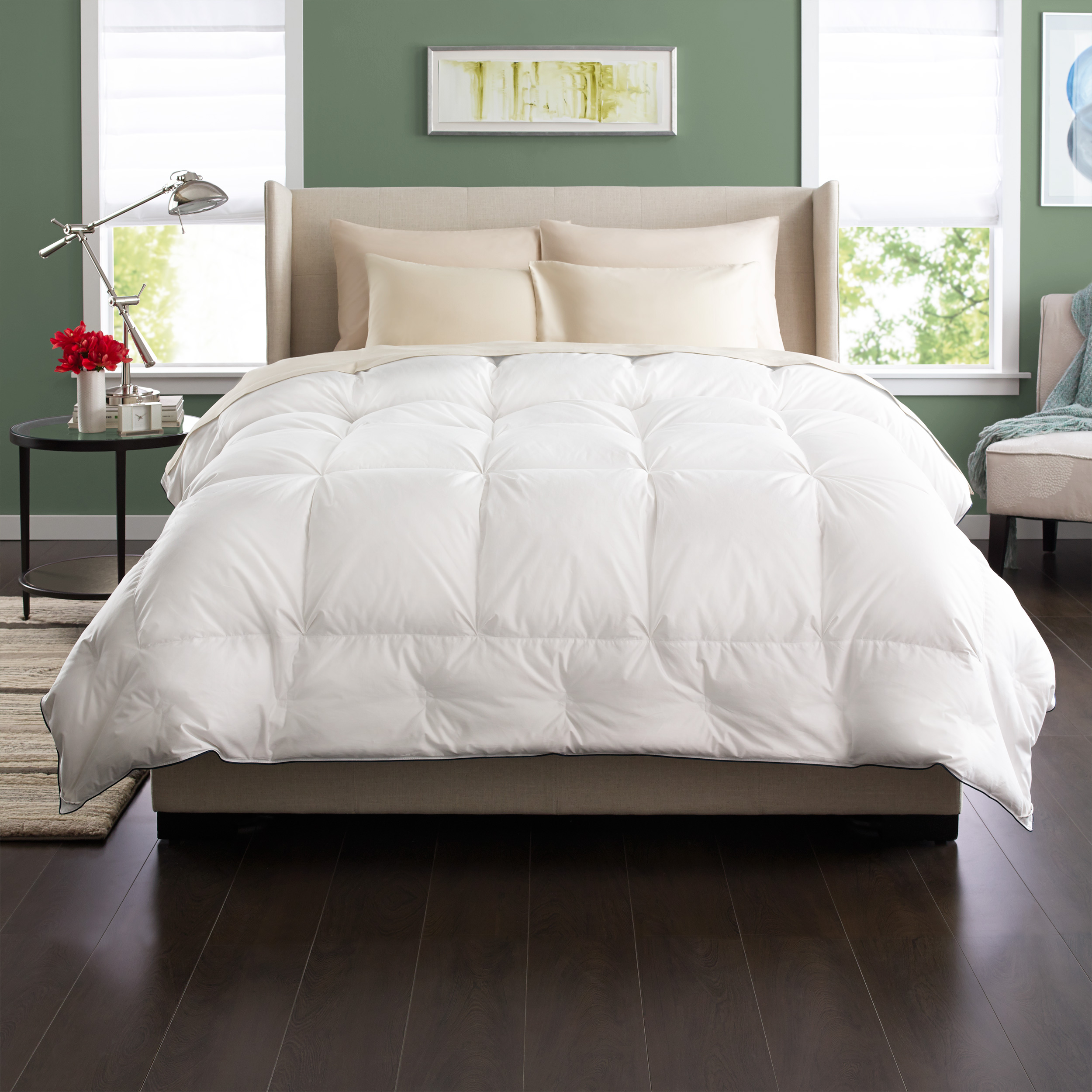 down kay comfort goose author best fill classic reviews page comforter alternative heavy macys white natural