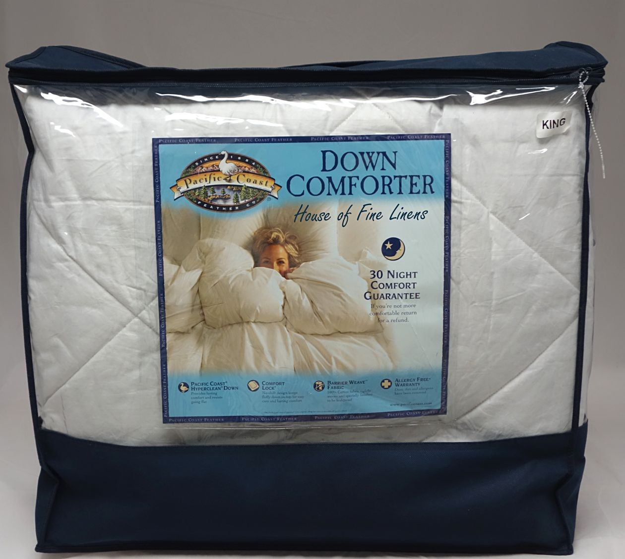 Pacific Coast Comforter | Summer Down Comforter | Pacific Coast Superloft Down Comforter