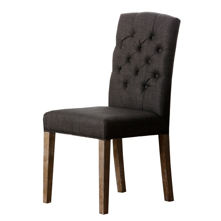 Parson Dining Chairs | Gold Dining Chairs | Tufted Dining Chair