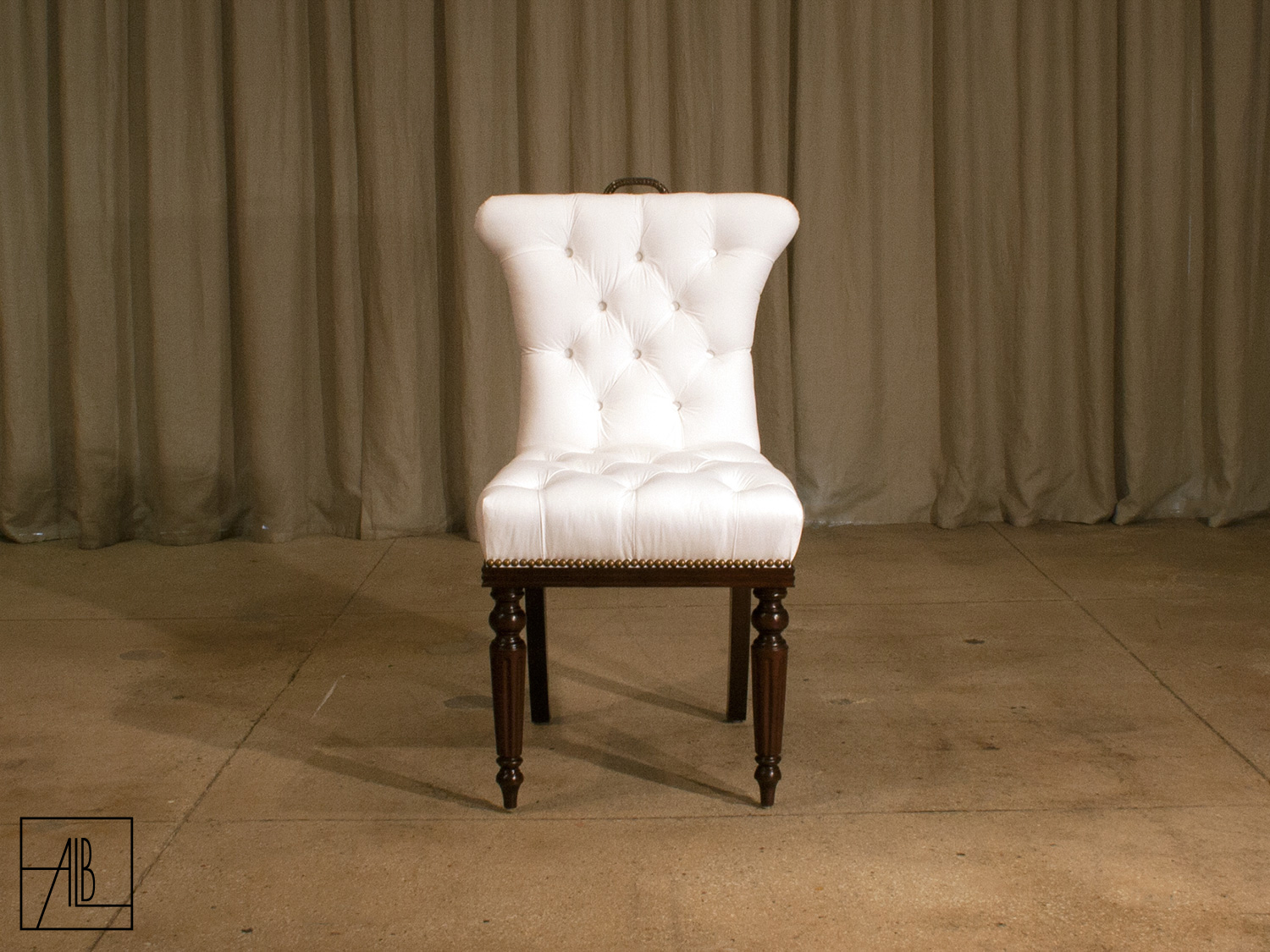 Parsons Dining Chairs   Grey Upholstered Dining Chairs   Tufted Dining Chair