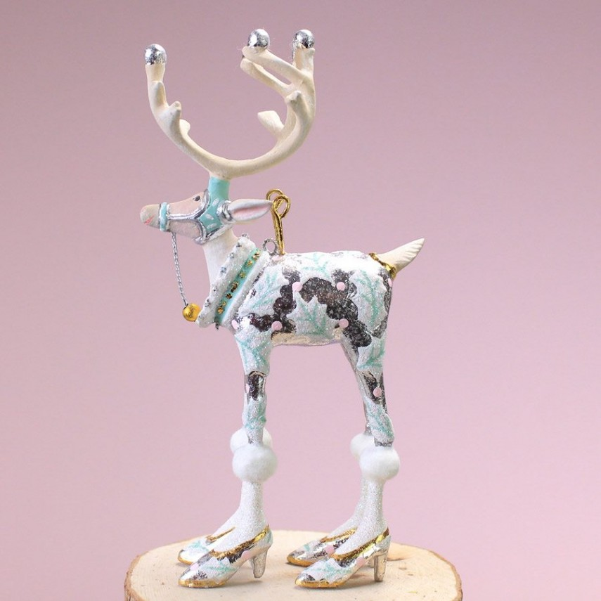 Patience Brewster 12 Days Of Christmas   Patience Brewster   Patience Brewster Reindeer Ornaments