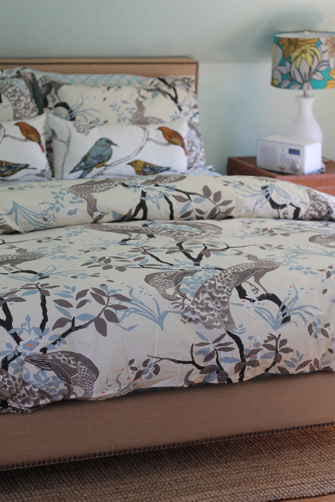 Bedroom Outstanding Peacock Bedding For Bedroom