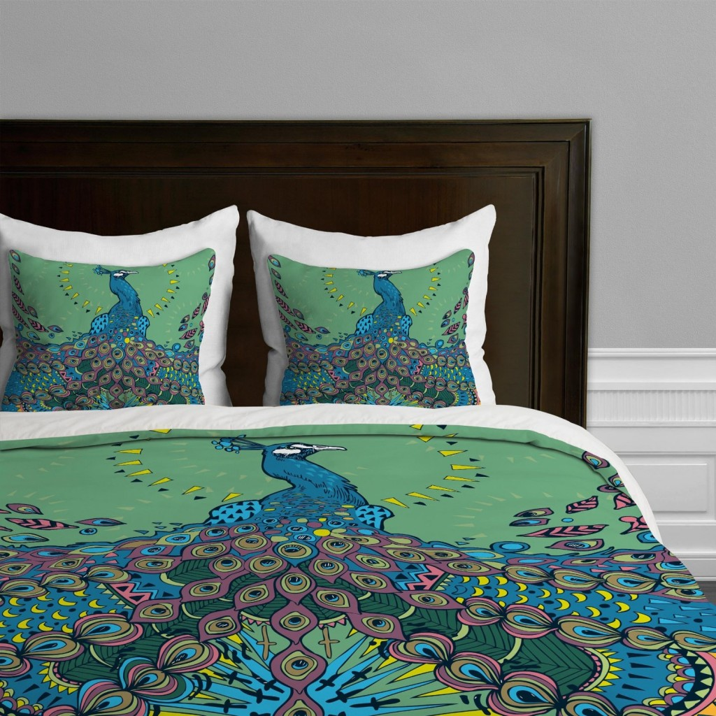 Peacock Bedding | Peacock Alley Sheets | Peacock Feather Comforter Set