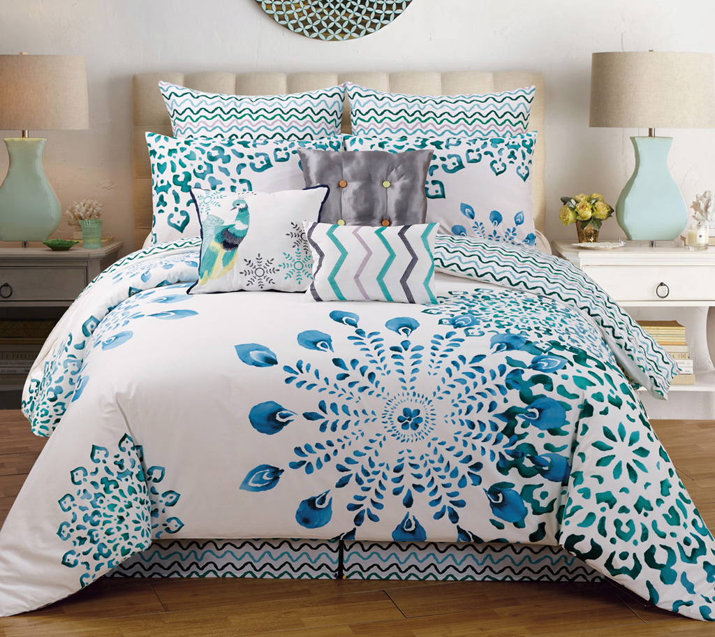bedroom outstanding peacock bedding for bedroom decoration ideas