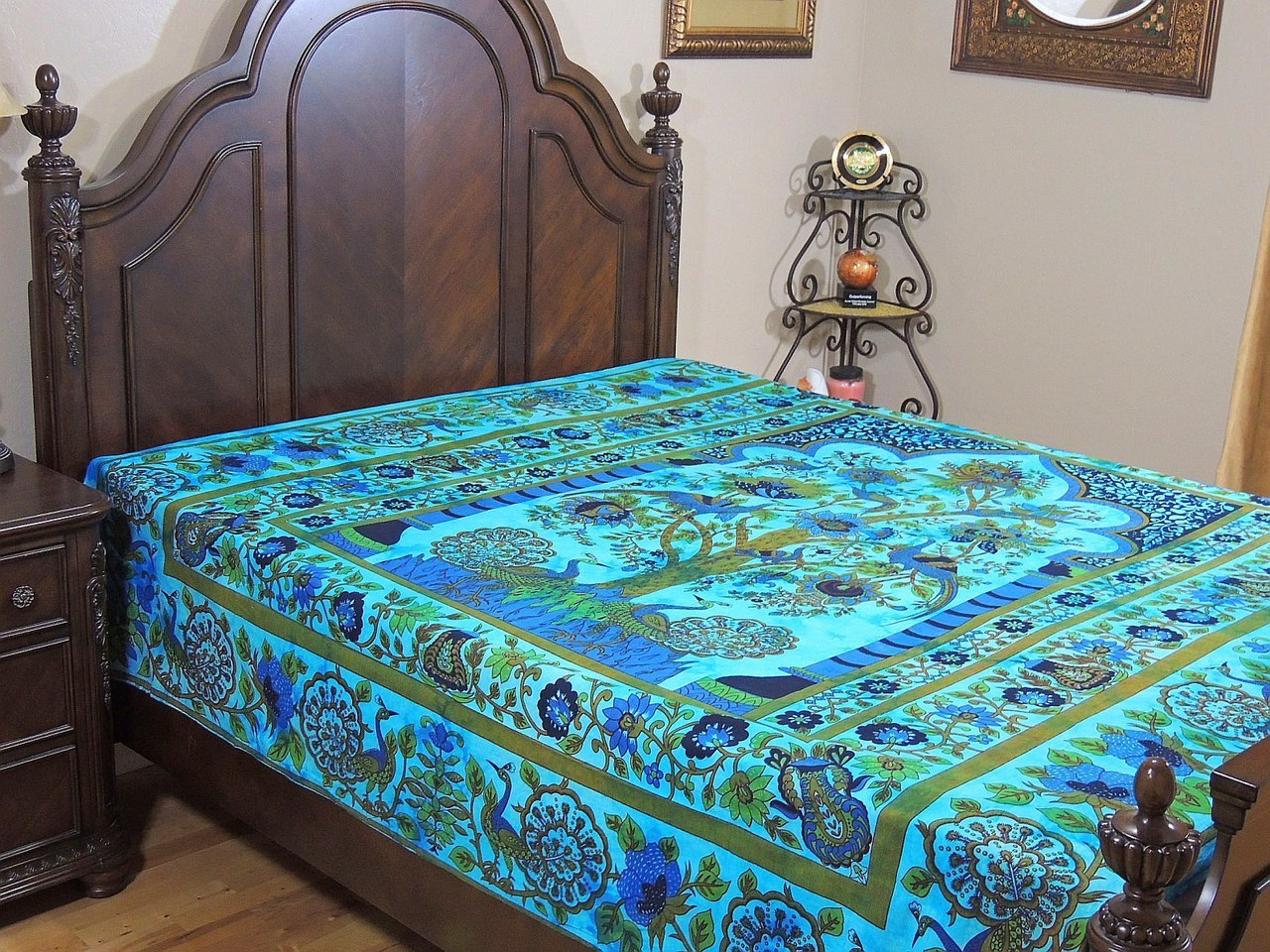 Peacock Bedding | Peacock Blue Sheets | Peacocks Bedding