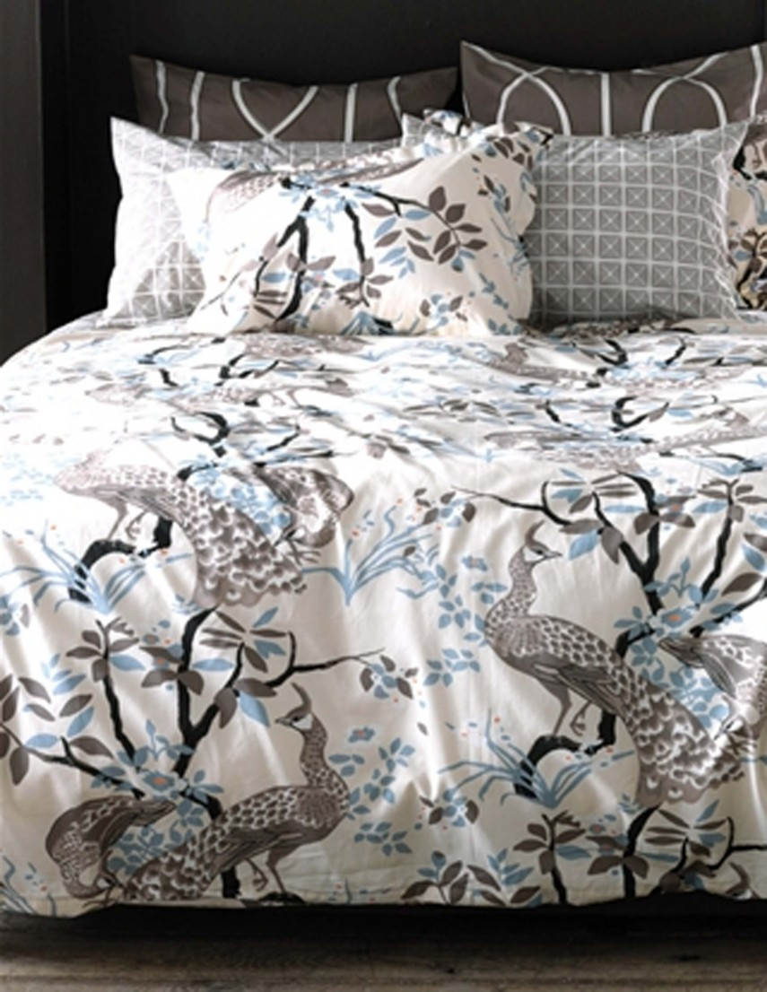 Peacock Bedding | Peacock Comforter Sets | Peacock Blue Quilt
