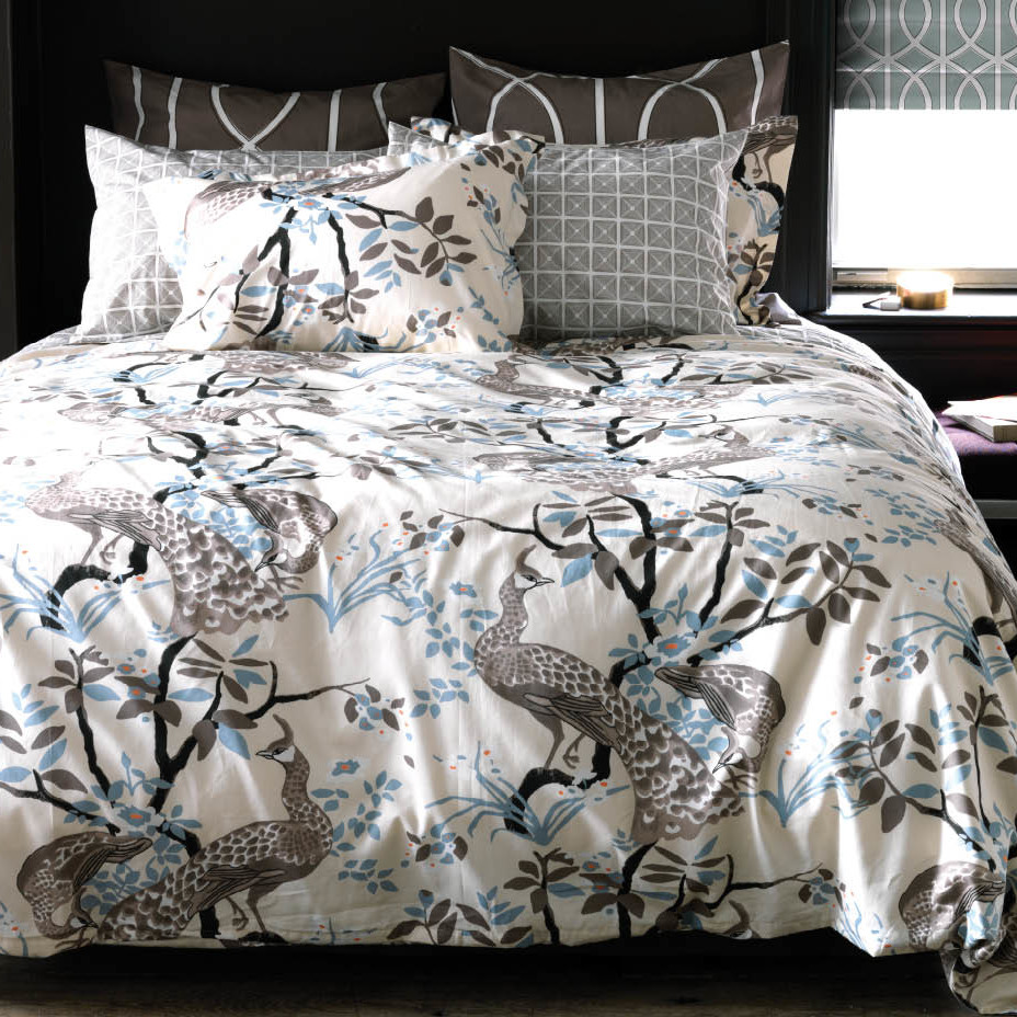 Peacock Blue Comforter | Peacock Alley Bedding | Peacock Bedding