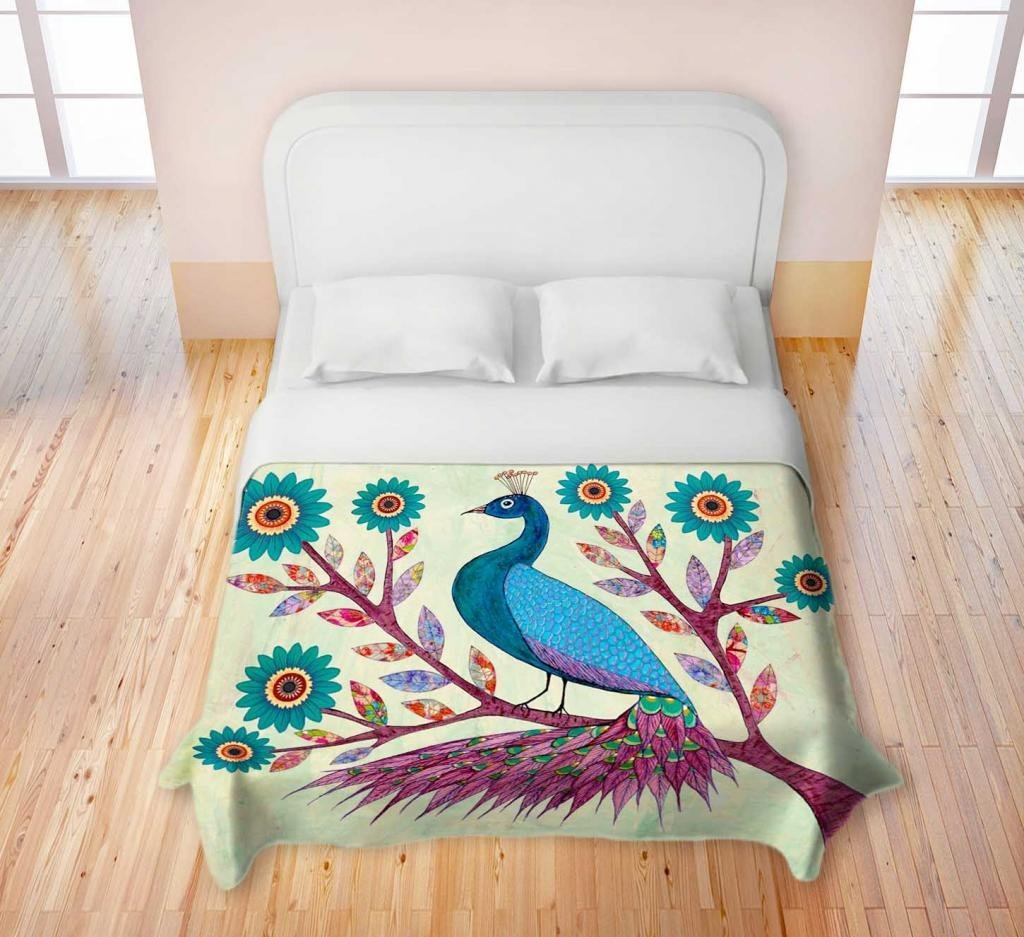 Peacock Duvet Set | Peacock Design Bedding | Peacock Bedding