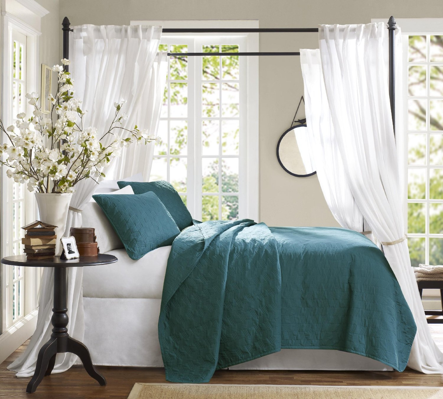 Peacock Feather Bedding Set | Peacock Bedding | Peacock Themed Bedding