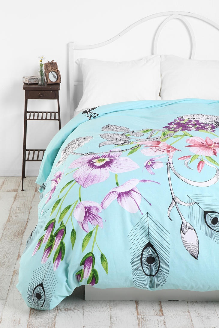 Peacock Inspired Bedding | Peacock Bedding | Peacock Bedspread Bed Bath and Beyond