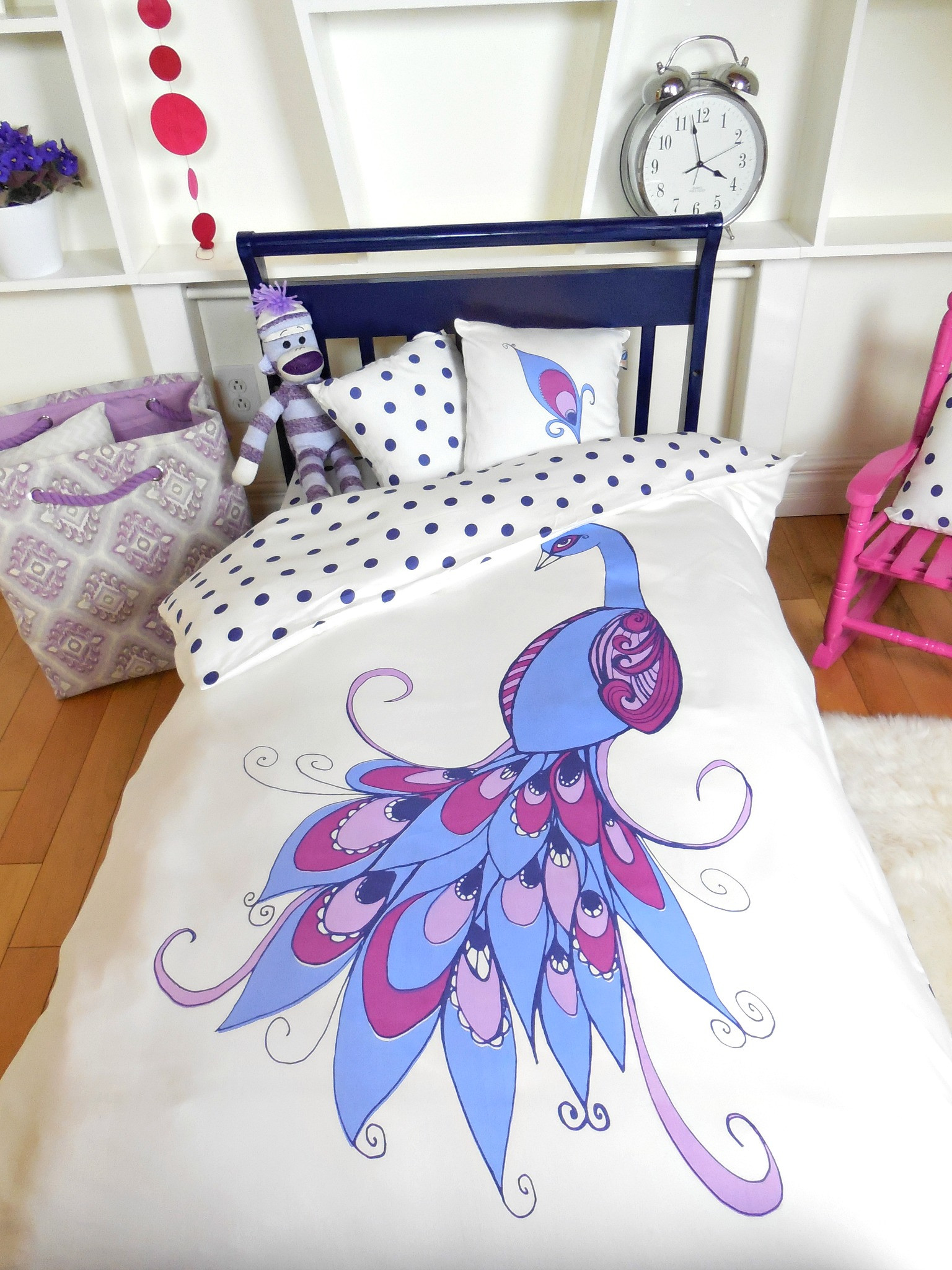 Peacock Pattern Bedding | Peacock Sheets | Peacock Bedding