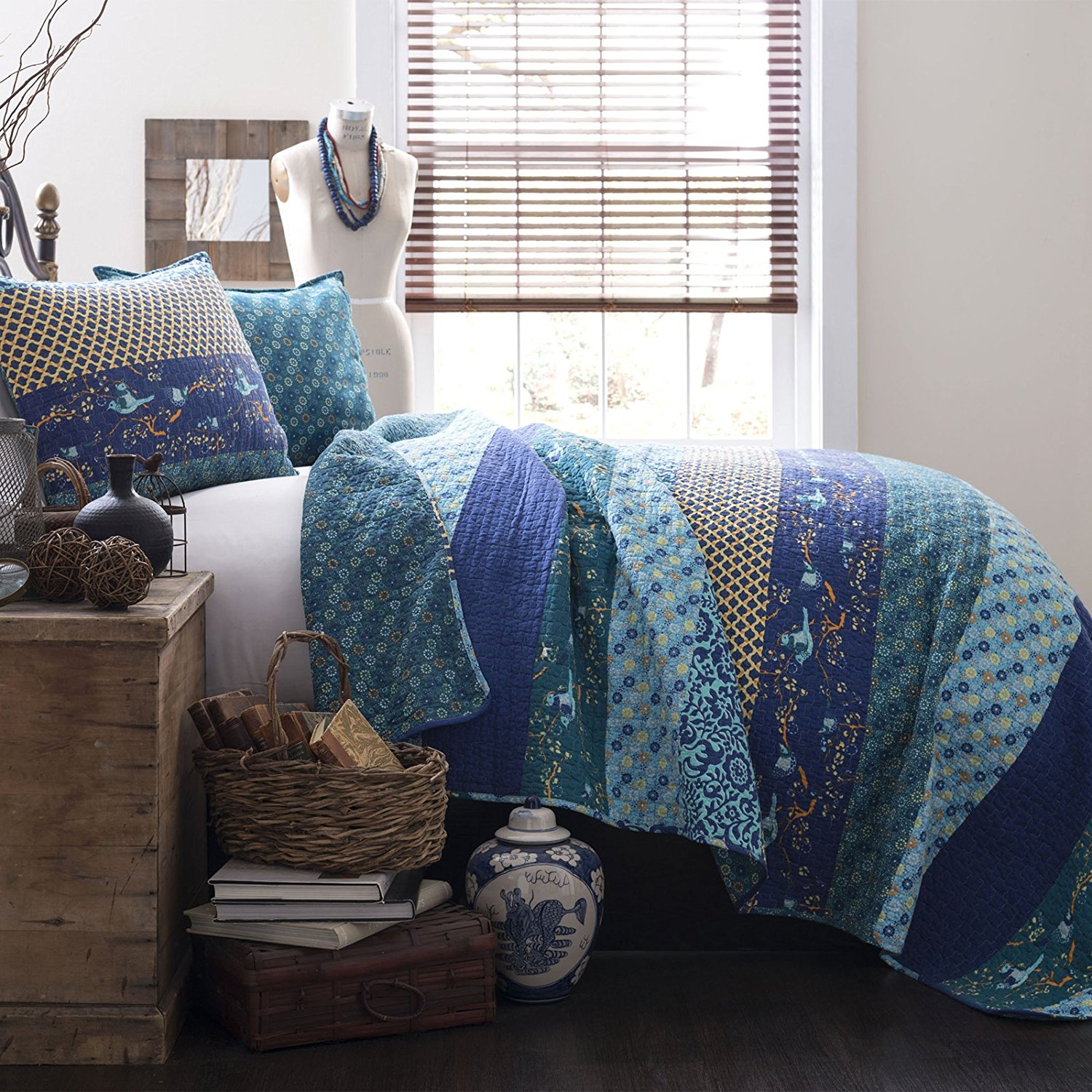 Peacock Pillow Case | Peacock Duvet Set | Peacock Bedding