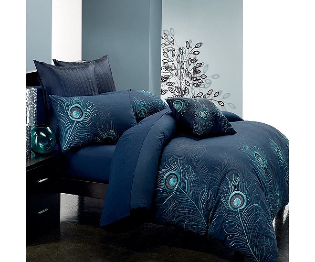 Peacock Theme Bedroom | Peacock Bedding | Peacock Alley King Sheet Set