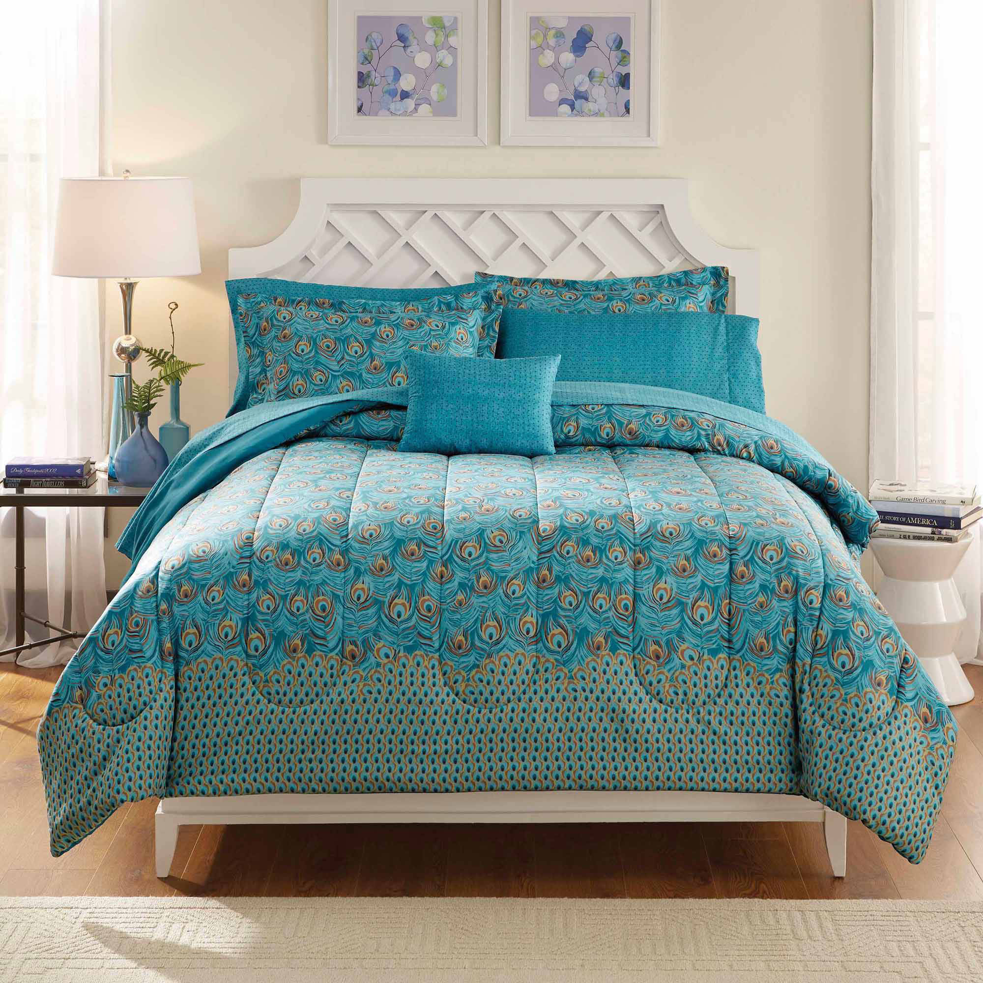 Peacock Twin Bedding | Peacock Bedding | Peacock Alley Duvet