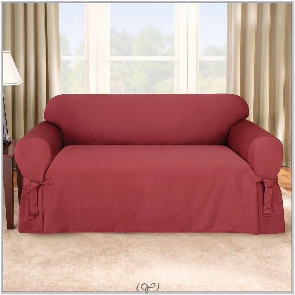 Perfect fit sofa covers taupe sofa slipcovers from bed bath beyond thesofa Loveseat cushion covers