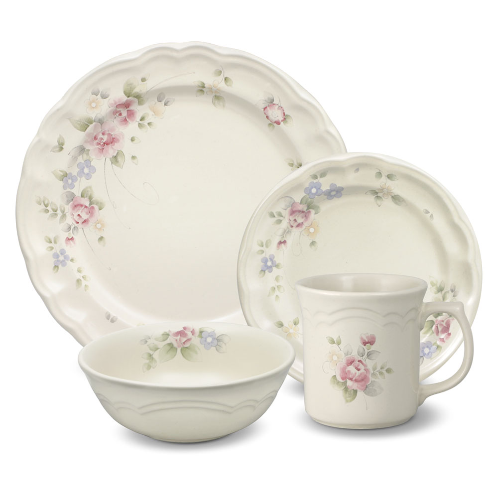 Pfaltzgraff Dinnerware Set | Stoneware Dinnerware Sets | Square Dinner Plate Sets