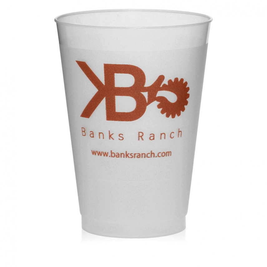 Plastic Fluted Cups | Personalized Plastic Cups | Personalize Cups
