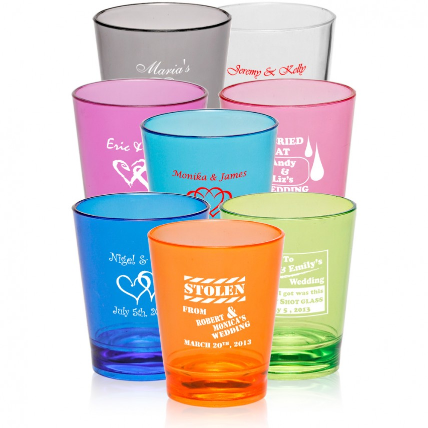Plastic Punch Cups | Plastic Cups With Logo | Personalized Plastic Cups
