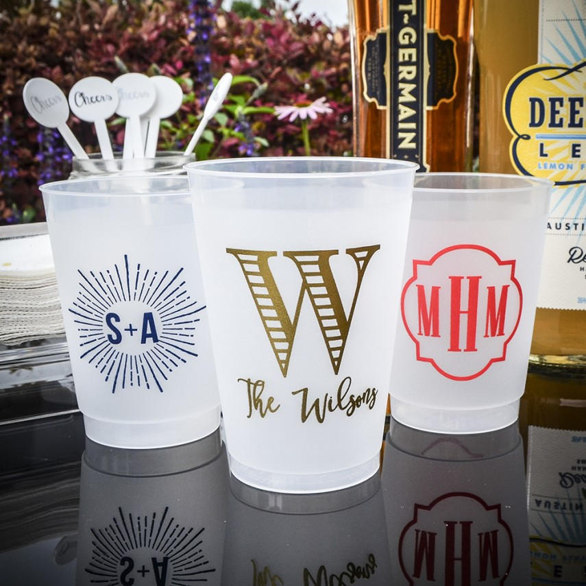 Plastic Stadium Cups | Personalized Plastic Cups | Plastic Tumblers Wholesale