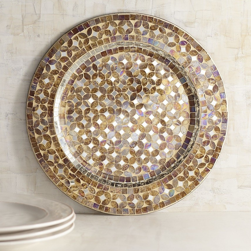 Plate Chargers | Clear Glass Charger Plates Wholesale | Gold Charger Plates Cheap