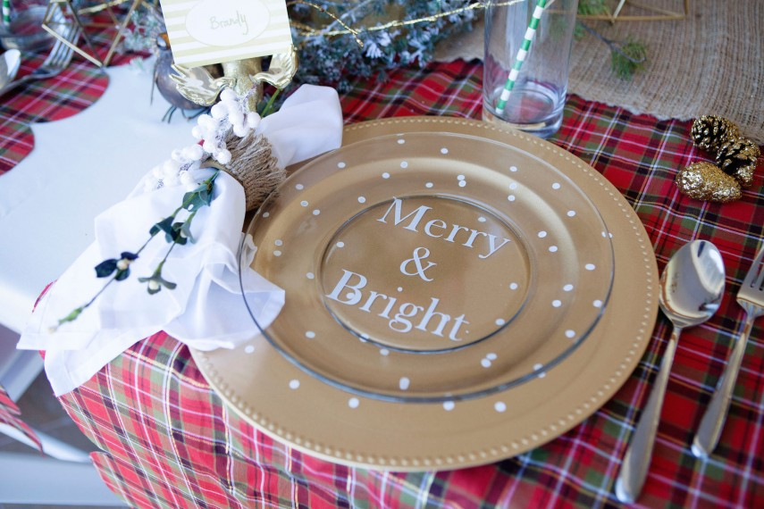 Plate Chargers | Wedding Charger Plates | Clear Glass Charger Plates