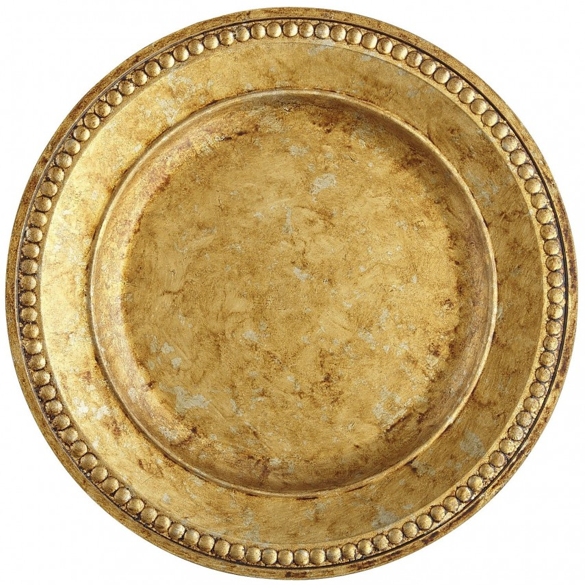 Plate Chargers | Wood Plate Chargers | Gold Plastic Charger Plates