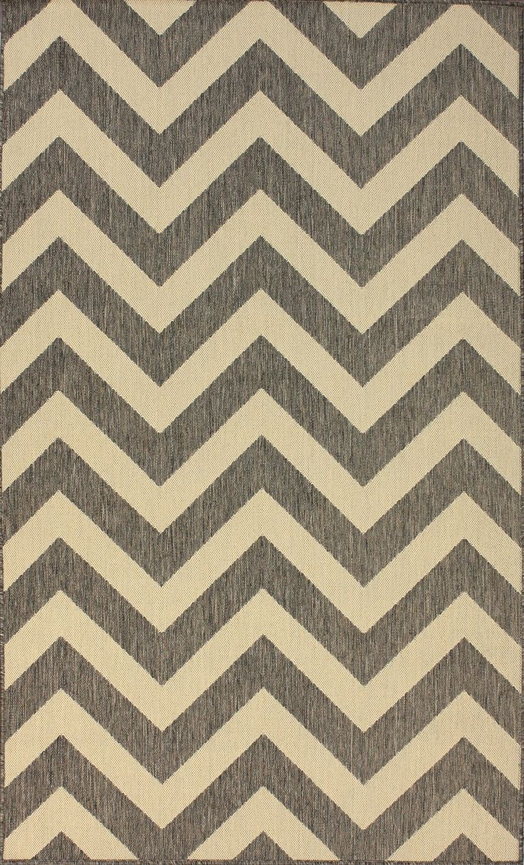 Pottery Barn Zig Zag Rug | Indoor Outdoor Chevron Rug | Chevron Rug