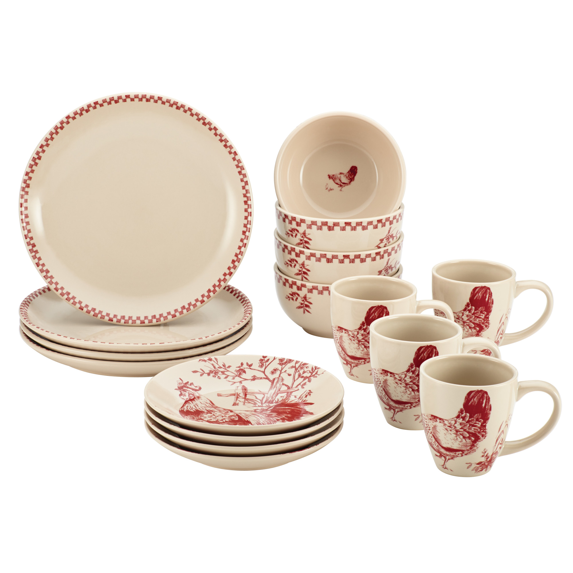 Pottery Dinnerware Sets | Stoneware Dinnerware Sets | Jcpenney Plates