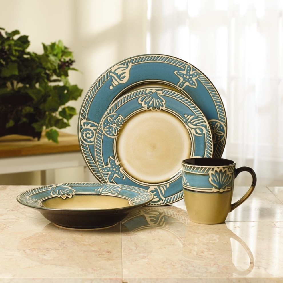 Dining Room Fascinating Stoneware Dinnerware Sets For