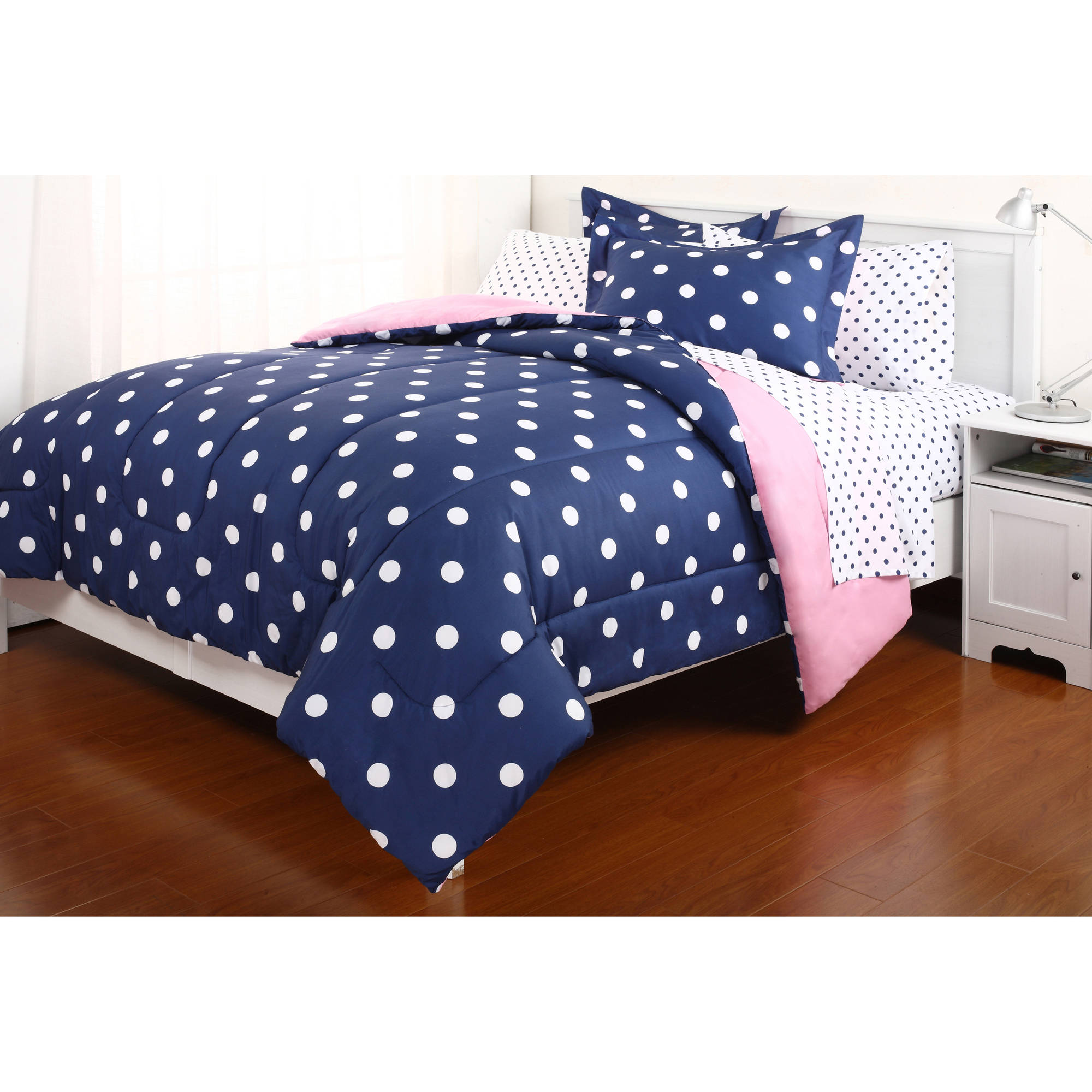 Purple Bedspreads | Twin Comforter Set | Navy Blue Comforter