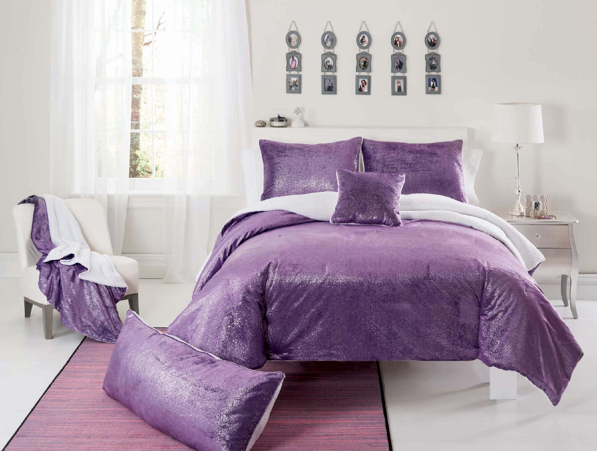 Purple Comforter Sets | Dark Purple Comforter Sets | Purple Twin Comforter Set