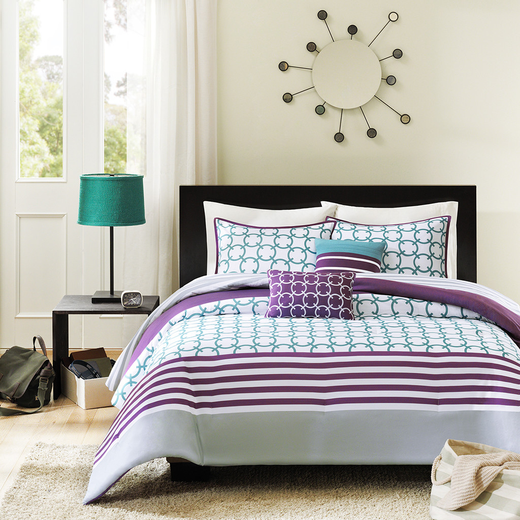 Purple Comforter Sets Full Size | Purple Full Size Comforter Sets | Purple Comforter Sets