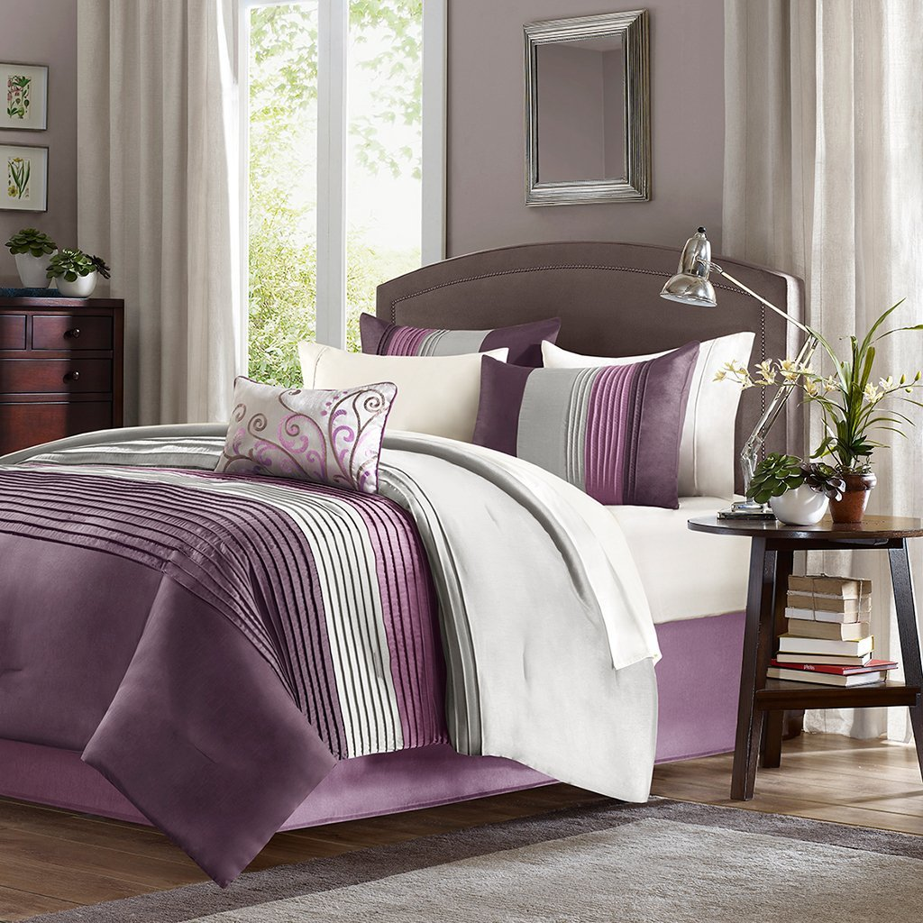Purple Comforter Sets | Purple and Gold Comforter Set | Full Size Purple Comforter Sets