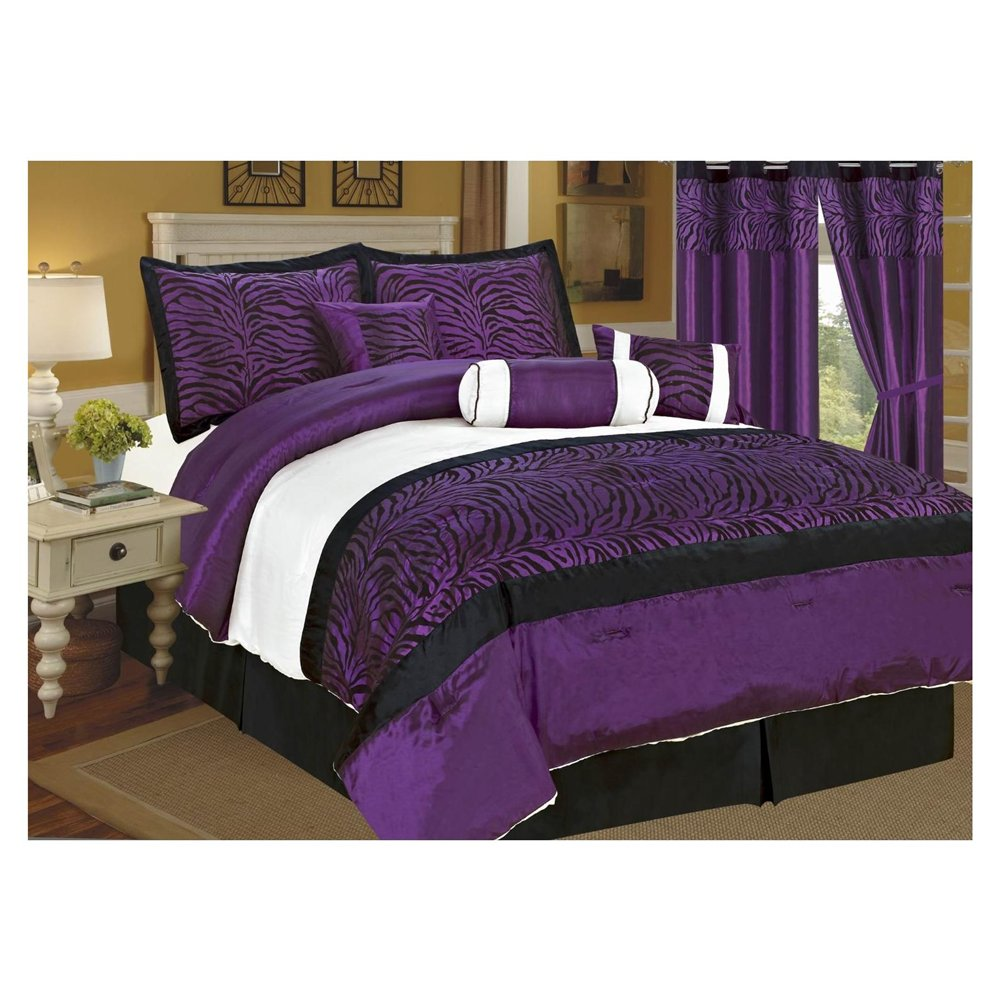 Purple Comforter Sets | Purple Comforter Set Twin | Purple Comforter Sets Full Size