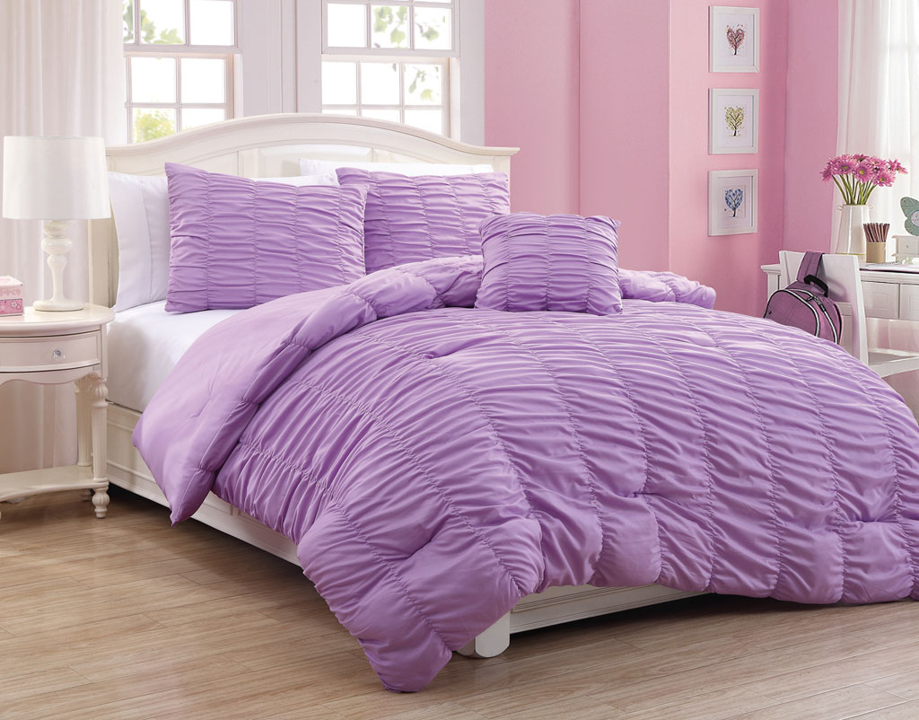 Purple Comforter Sets | Purple Comforter Sets | Purple Flower Comforter Set