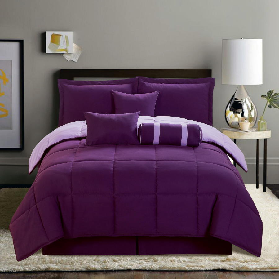 Purple Comforter Sets | Purple King Size Comforter Sets | Purple Comforter Set