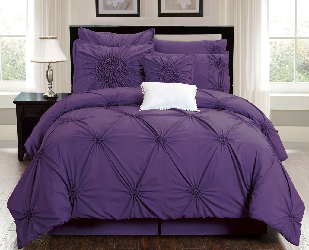 Purple Comforter Sets | Purple Twin Comforter Sets | Purple Queen Comforter Set